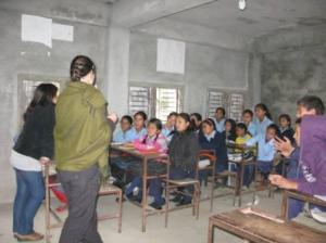Teaching in secondary school