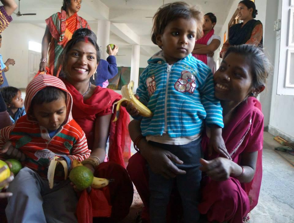 Aangan Wadi Village in India