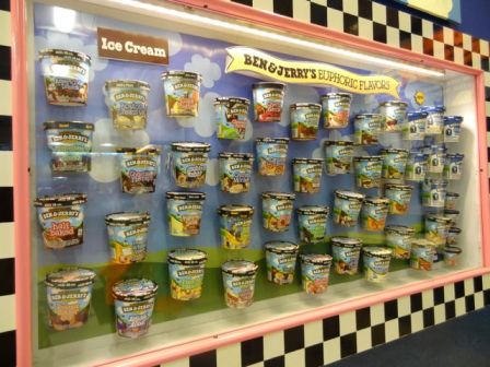National Ice Cream Day Featuring Ben and Jerry's Ice Cream