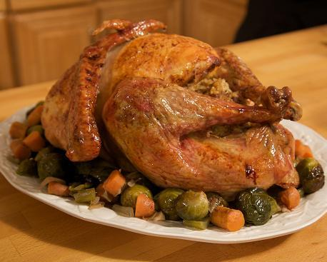 Italian Thanksgiving Turkey. Photo from Cooking with Nonna