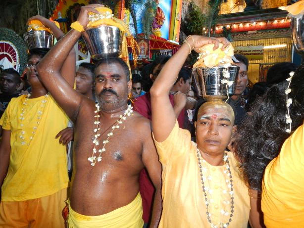 public sacrifices at Thaipusam Festival in Malaysia