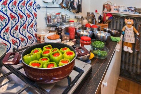 Turkish stuffed peppers