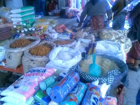 shopping in Guatemala