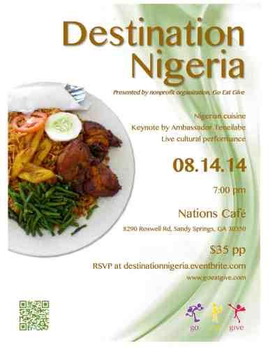 Destination Nigeria flyer