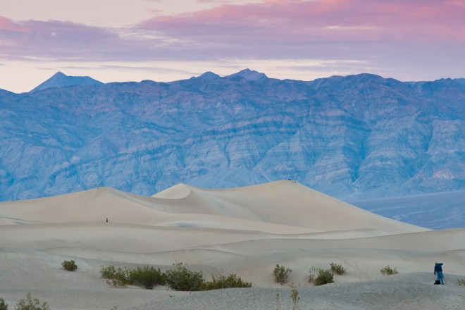 Death Valley Dunes Sunset 2