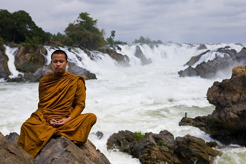 Laos-Khon Phapheng Waterfall