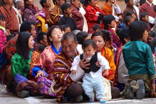 people of bhutan