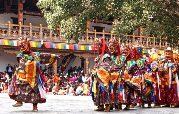 Punakha festival bhutan