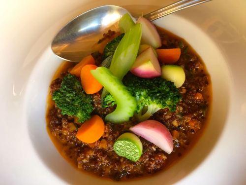 Quinoa dish at Awasi Atacama