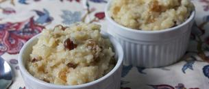 Arroz con leche, a puerto rican rice pudding