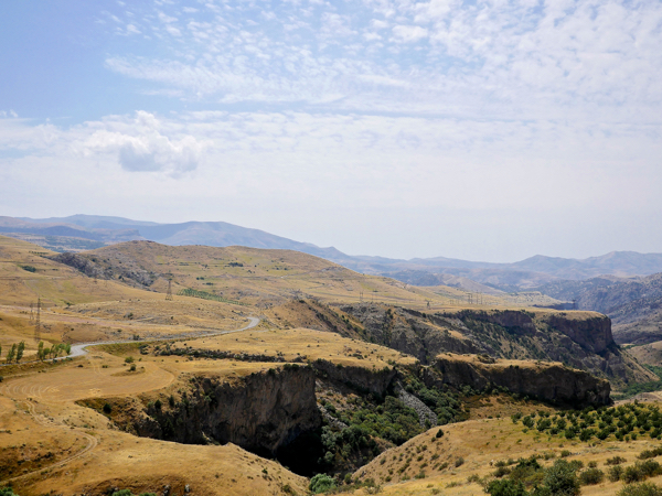 canyon in Armenia