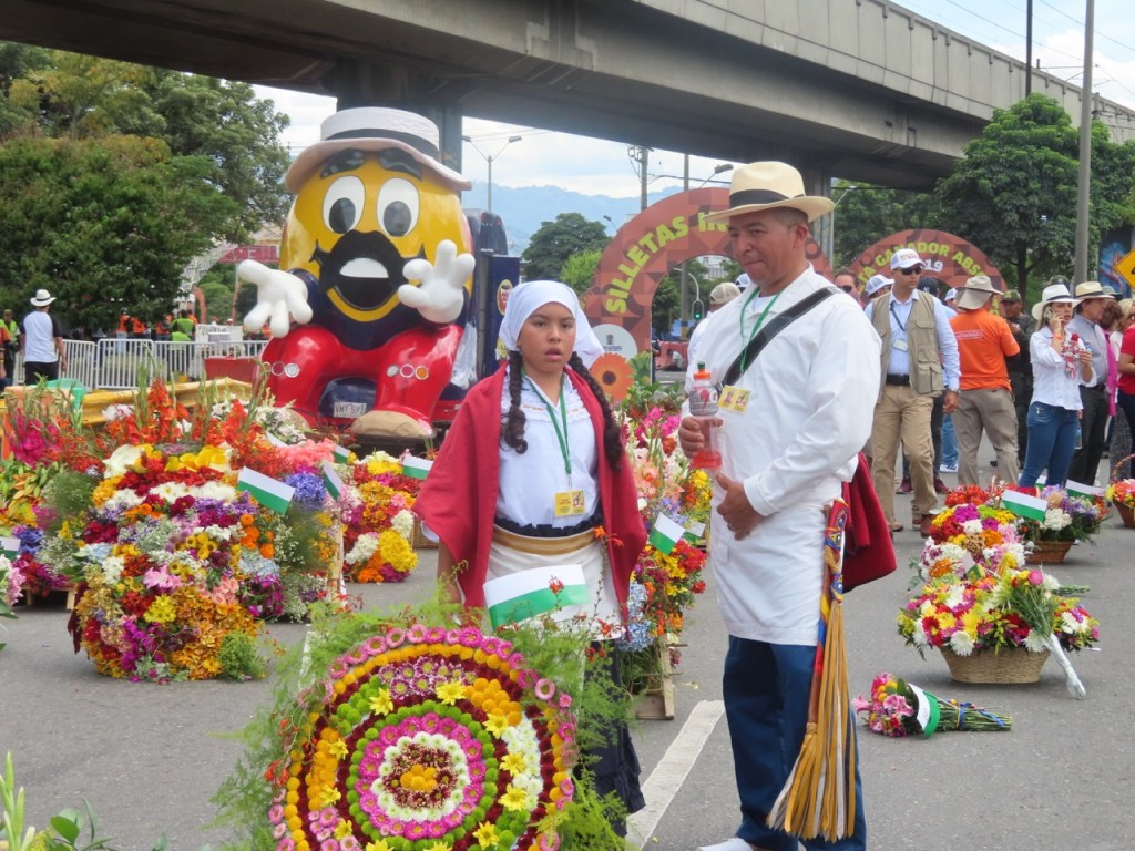 The Columbian Flower Parade