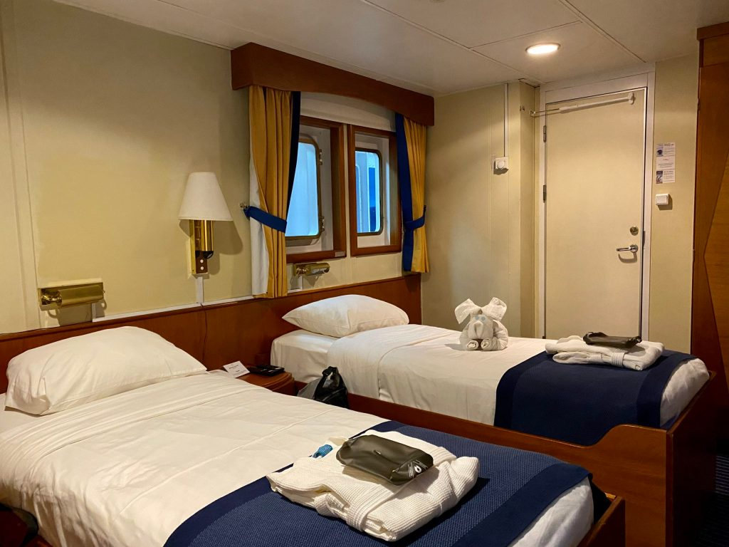 Premium cabin on the Ocean Adventurer