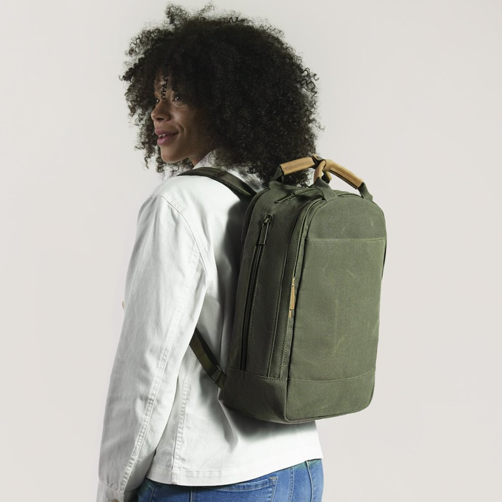 backpack give back to the environment
