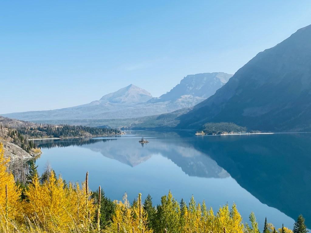 St Mary's Lake Glacier