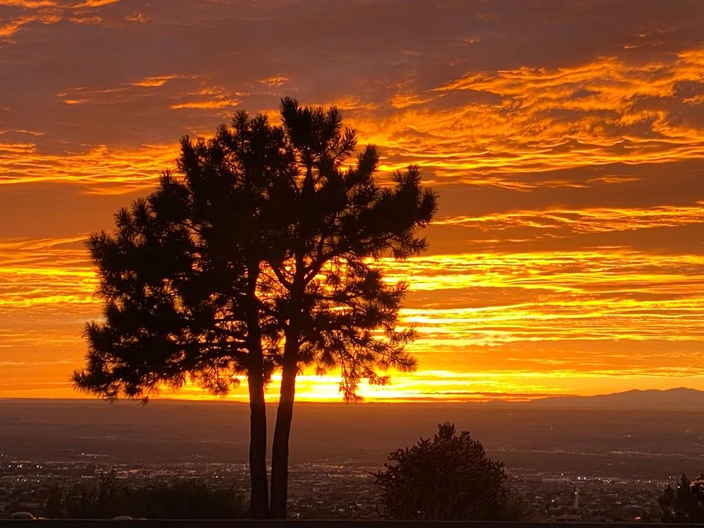 watch sunset in Albuquerque