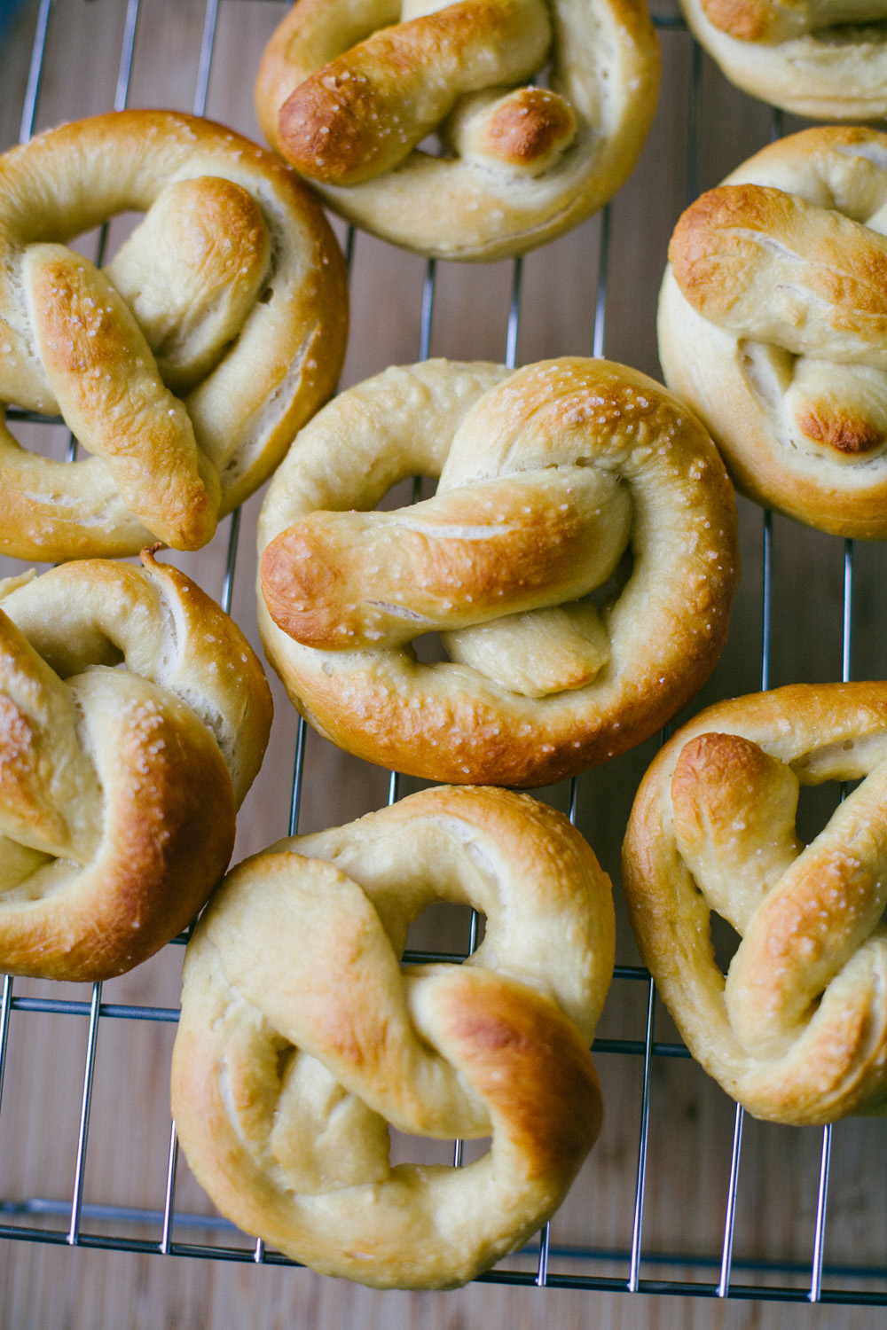 baking pretzels from Walter the Baker