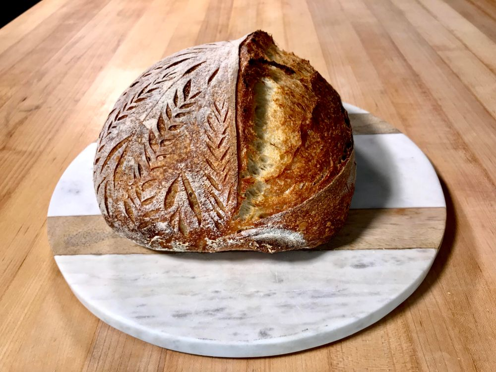Sourdough bread by Shannon Peckford / Go Eat Your Bread with Joy