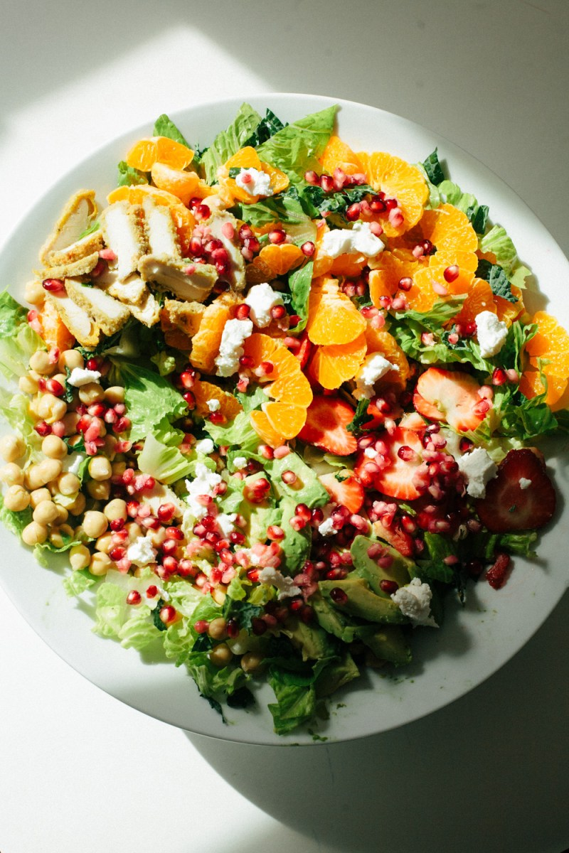 Recipe: Orange Avocado Chickpea Salad