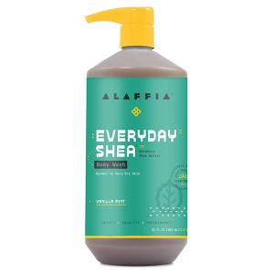 Alaffia Vanilla Mint Body Wash 950mL