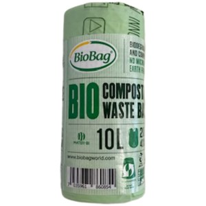 Biobag 10L compostable waste bags