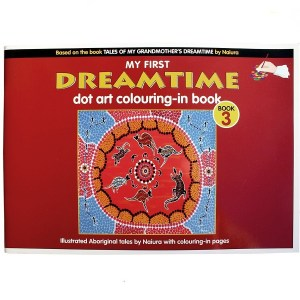 My First Dreamtime Dot Art Colouring In Book 3, Naiura