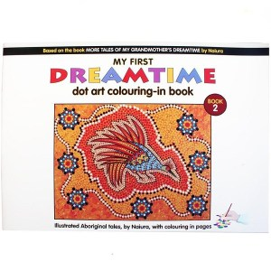 My First Dreamtime Dot Art Colouring In Book 2, Naiura