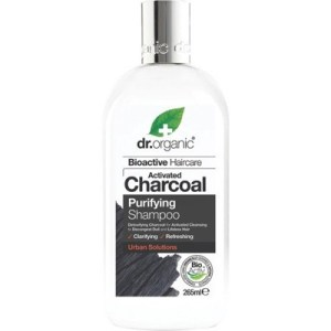 Dr Organic Activated Charcoal Purifying Shampoo, 265mL