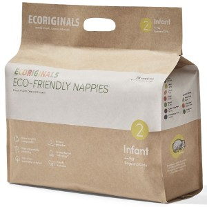 Ecoriginals Eco Friendly Disposable Nappies Infant