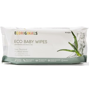 Ecoriginals Bamboo Water Wipes