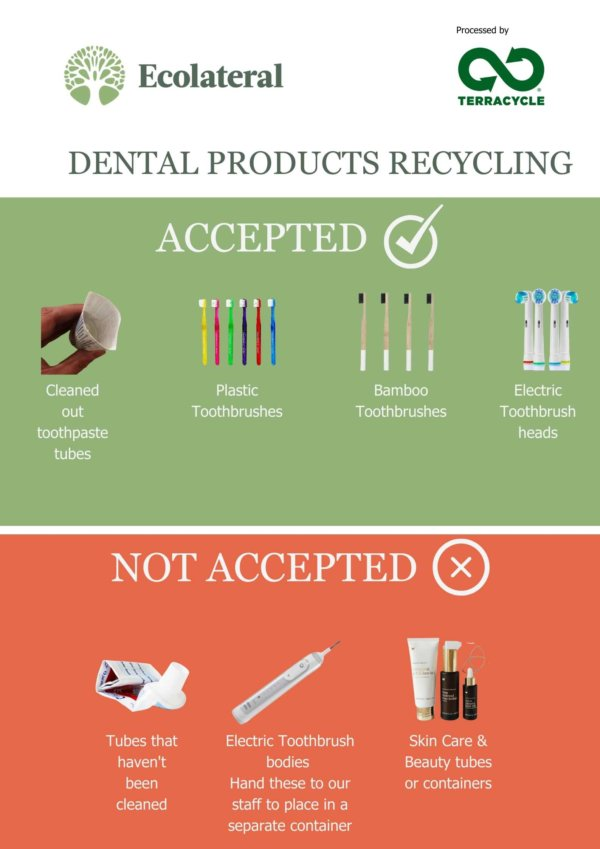 terracycle dental products recycling