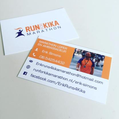Contact met ErikRuns4KiKa