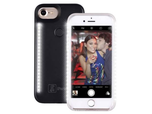 Chique Selfie Hoesje iPhone 8/7/6S/6 Zwart