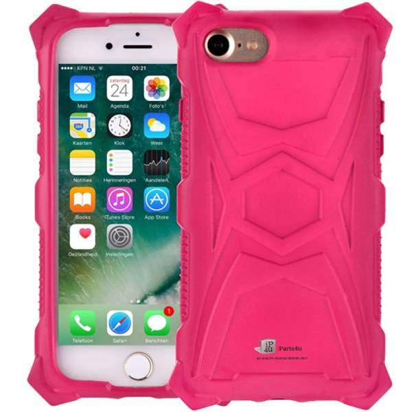 Schokbestendig iPhone 8/7 Hoesje Roze Shockproof