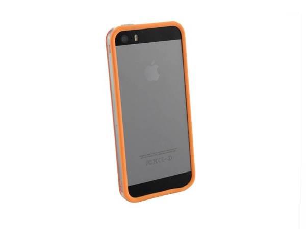 Bumper iPhone 5/5S transparant Oranje