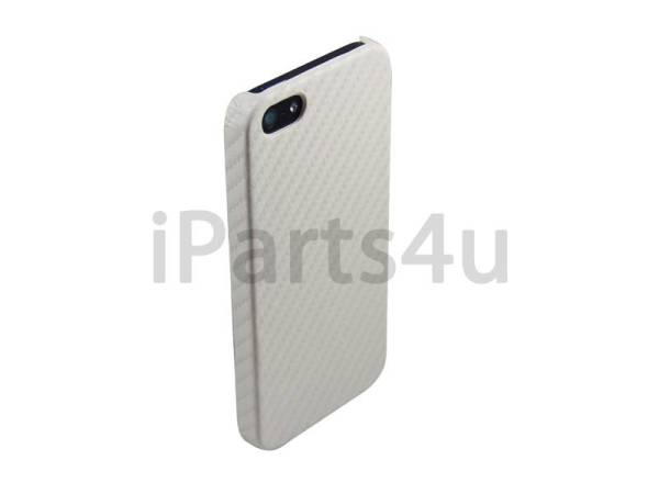 Carbon Hardcover case iPhone 5/5S Wit