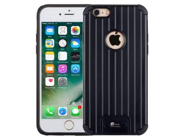 Armor iPhone 6/6S Hoesje Schokbestendig Hardcase Zwart