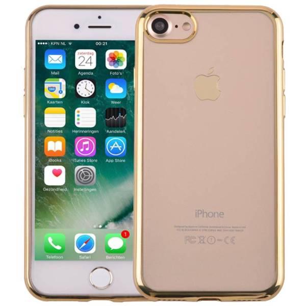 Ultra Dun iPhone 8/7 Bumper Case Hoesje Siliconen Goud