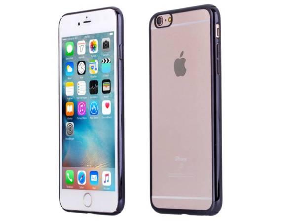 iPhone 6 Plus en 6S Plus Bumper Hardcase Ultra Dun Zwart