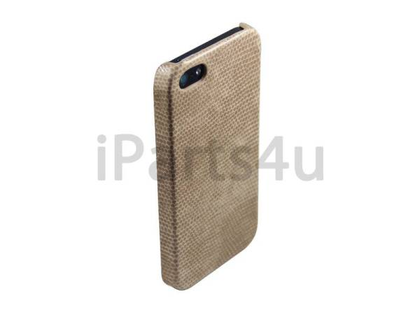 Slang Hardcover Snap Case iPhone 5/5S Beige Bruin