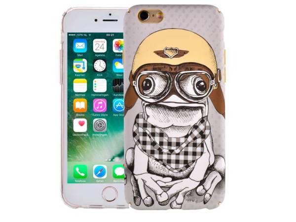iPhone 6/6S Hoesje Vintage Look Kikker