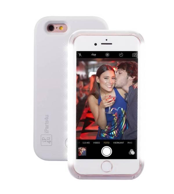 Selfie Hoesje iPhone 6/6S Wit Super Handig