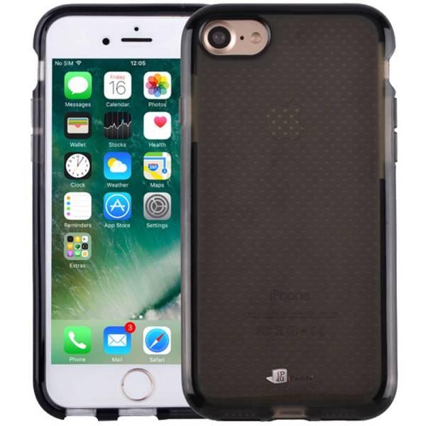 iPhone 8/7 Bumper Case Siliconen Shockproof Hoesje Zwart