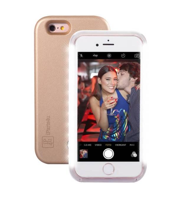 Super Handig Selfie Hoesje iPhone 6/6S Goud