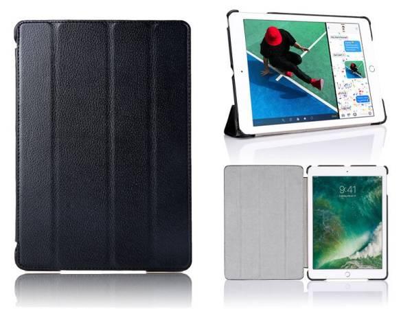 iPad 2017 Hoes / iPad Air Smart Case Leder Zwart