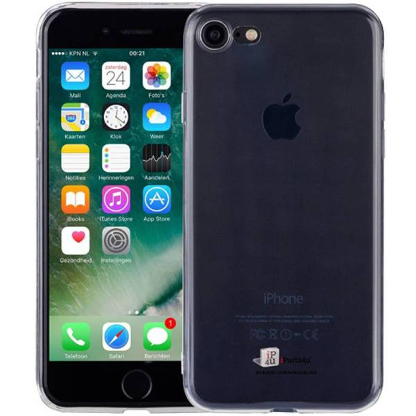 Ultra Dun iPhone 8/7 Hoesje Siliconen Transparant