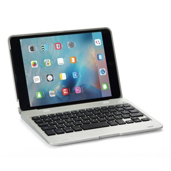iPad Mini Toetsenbord Keyboard Full Protection Zilver