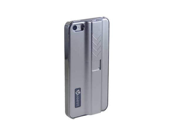 Aansteker Hoesje iPhone 5/5S Aanstekercase Zilver