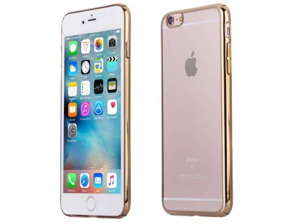 iPhone 6 Plus en 6S Plus Bumper Hardcase Ultra Dun Goud