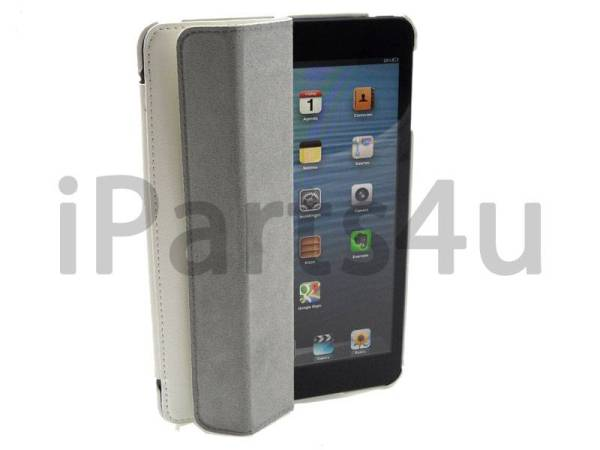 Smartcase iPad Mini Wit Leer